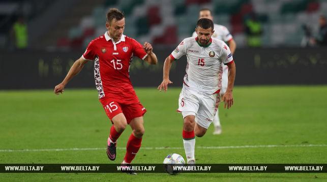 В игре Сергей Кисляк (справа)