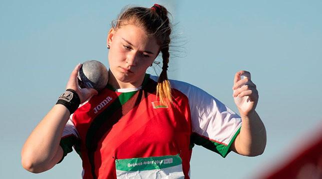 Елизавета Дорц. Фото НОК Беларуси