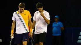 Максим Мирный и Филипп Освальд. Фото Белорусской теннисной федерации