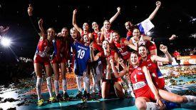 Сборная Сербии. Фото FIVB