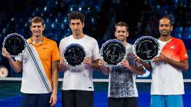 Максим Мирный и Филипп Освальд (слева). Фото официального сайта турнира
