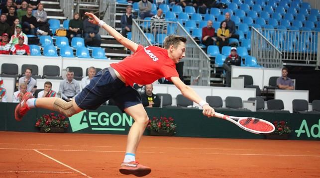 Александр Згировский. Фото Белорусской теннисной федерации