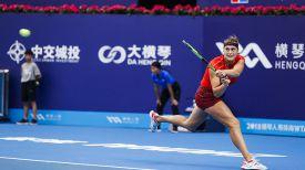 Арина Соболенко. Фото организаторов турнира в Чжухае