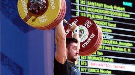 Евгений Тихонцов. Фото Международной федерации тяжелой атлетики