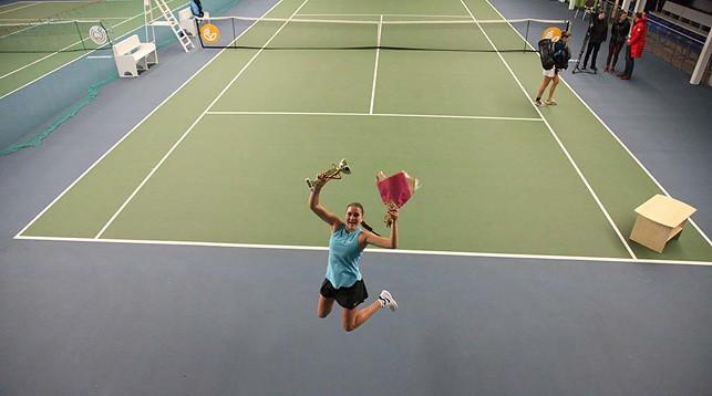 Юлия Готовко. Фото Белорусской федерации тенниса