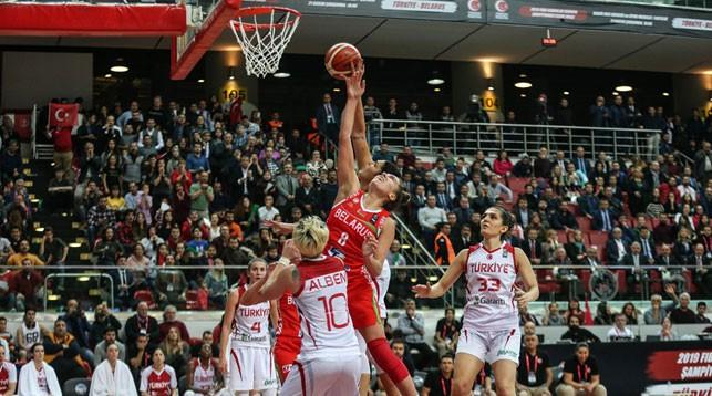 Во время матча. Фото Международной федерации баскетбола