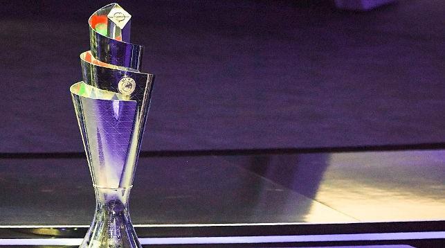 Трофей Лиги наций. Фото AFP/Getty Images