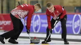 Команда Латвии. Фото Международной федерации керлинга