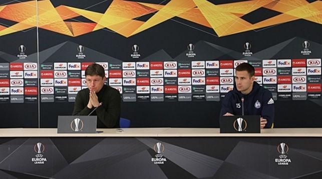 Алексей Бага и Максим Скавыш. Фото ФК БАТЭ