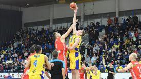 Во время матча. Фото Белорусской федерации баскетбола