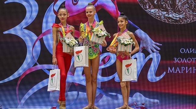 Кристина Пограничная, Анна Каменщикова и Валерия Соцкова. Фото Президентского спортивного клуба