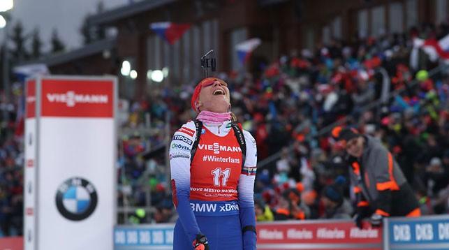 Анастасия Кузьмина. Фото IBU