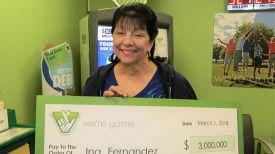 Ина Фернандес. Фото Virginia Lottery