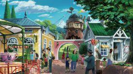 Иллюстрация студия Ghibli