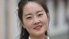 Студентка Гродненского госуниверситета им. Янки Купалы из Китая Чжан Нань
