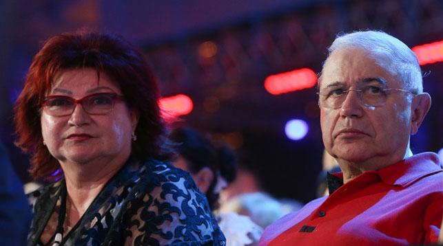 Елена Степаненко и Евгений Петросян. Фото ТАСС