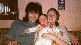 """Виктор Цой с женой Марьяной и сыном Сашей. Фото """"КП""""/joannastingray.com"""