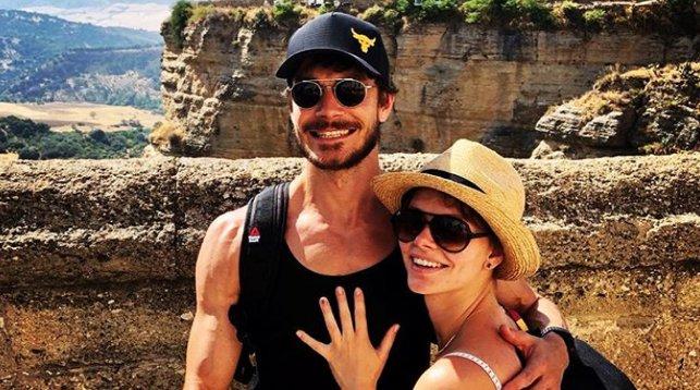 Максим Матвеев и Елизавета Боярская. Фото из Instagram-аккаунта