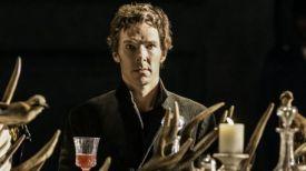 Бенедикт Камбербэтч в образе Гамлета. Фото Barbican Handou