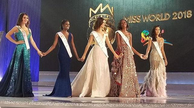 Ванесса Понсе (в центре). Фото из Instagram-аккаунта конкурса