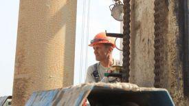 Строительство Нежинского ГОК. Фото из архива