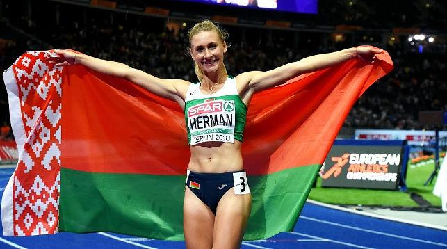 Эльвира Герман. Фото Белорусской федерации легкой атлетики