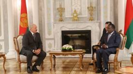 Александр Лукашенко и Эммерсон Мнангагва. Фото из архива