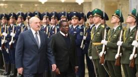 Александр Лукашенко и Эммерсон Мнангагва