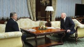 Евгений Марчук и Александр Лукашенко