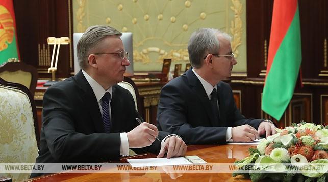 Владимир Чушев и Павел Пустовой