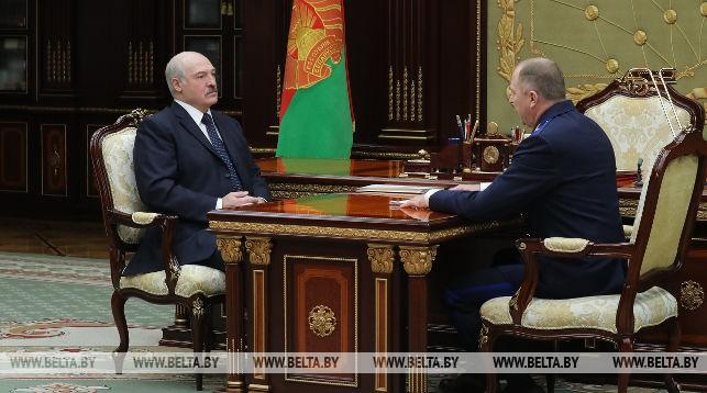 Александр Лукашенко с Иваном Носкевичем