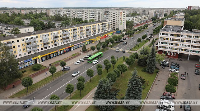 Новополоцк. Фото из архива