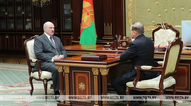 Александр Лукашенко и Виктор Шейман