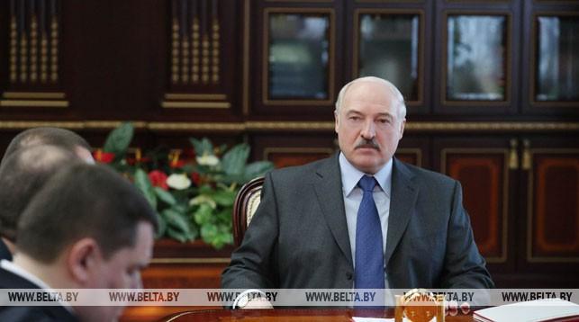 Александр Лукашенко во время назначений