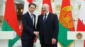 Себастьян Курц и Александр Лукашенко