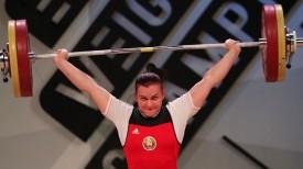 Дарья Наумова. Фото Федерации тяжелой атлетики Грузии