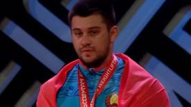 Евгений Тихонцов. Скриншот из видео Eurosport