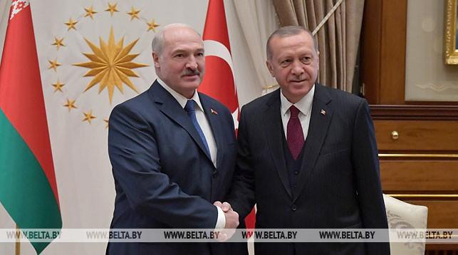 Александр Лукашенко и Реджеп Тайип Эрдоган