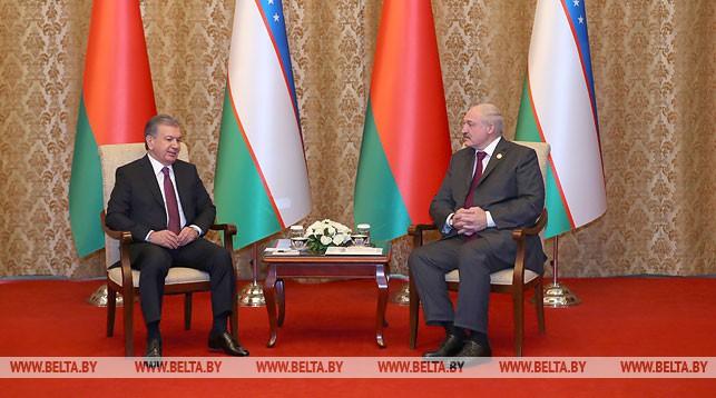 Шавкат Мирзиеев и Александр Лукашенко