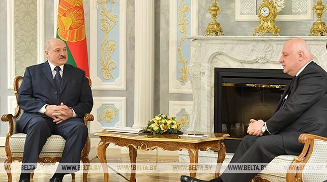 Александр Лукашенко и Георгий Церетели