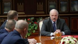 Александр Лукашенко во время согласования