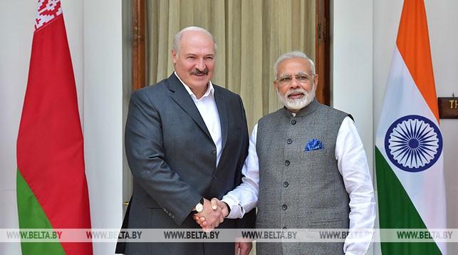 Александр Лукашенко и Нарендра Моди. Фото из архива