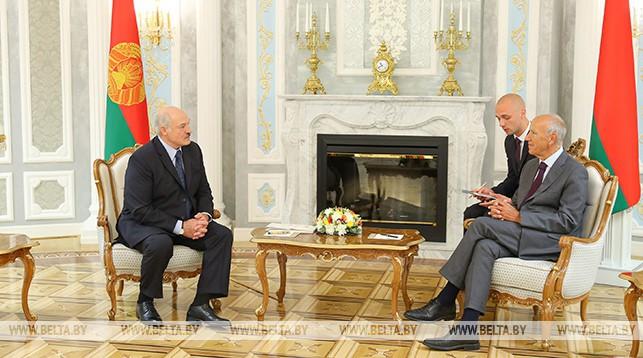Александр Лукашенко и Фрэнсис Гарри