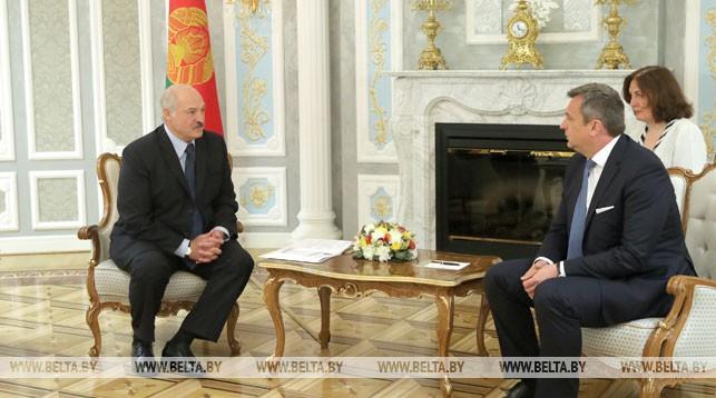 Александр Лукашенко и Андрей Данко