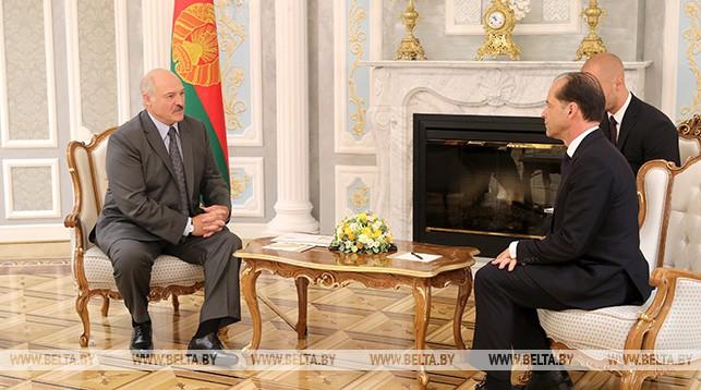 Александр Лукашенко и Джордж Холлингбери