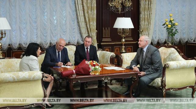Во время встречи с Президентом Грузии Саломе Зурабишвили