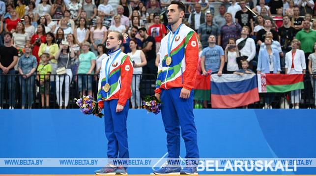 Артур Беляков и Ольга Мельник