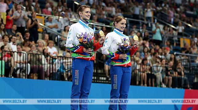 Марина Махаринская и Анна Гончарова