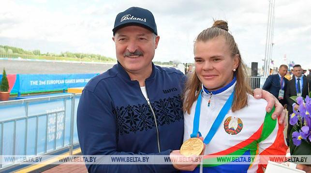 Александр Лукашенко и Марина Литвинчук