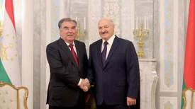 Эмомали Рахмон и Александр Лукашенко